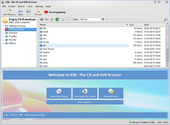 K3b 19 0 4 Free Download, Linux   IceWalkers