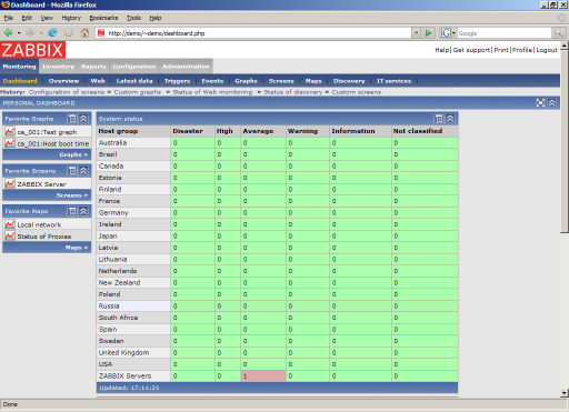 ZABBIX 4 2 0 Free Download, Linux | IceWalkers