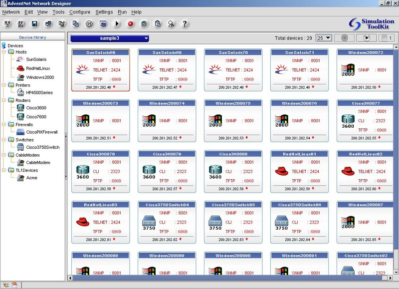 AdventNet Simulation Toolkit 5 1 Free Download, Linux
